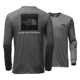 The North Face Men's Red Box Long Sleeve Te