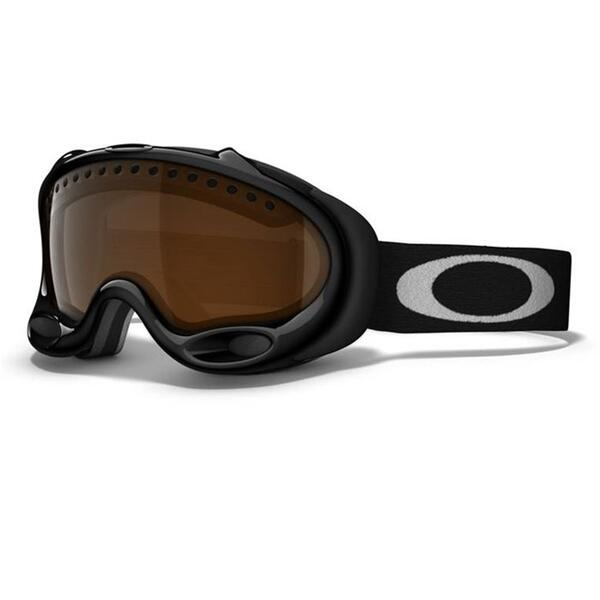 Oakley A Frame Goggles With Blk Irdium Lenses