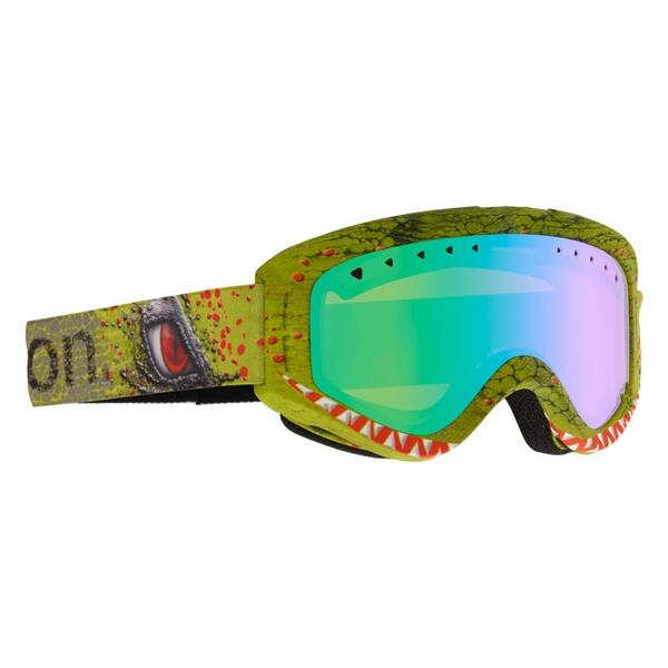 Anon Youth Tracker Snow Goggles with Green Amber Lens