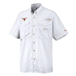 Columbia Sportswear Men's Collrgiate Bonehead Ut Short Sleeve Shirt