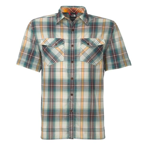 The North Face Men's Short Sleeve Watchme Woven Shirt