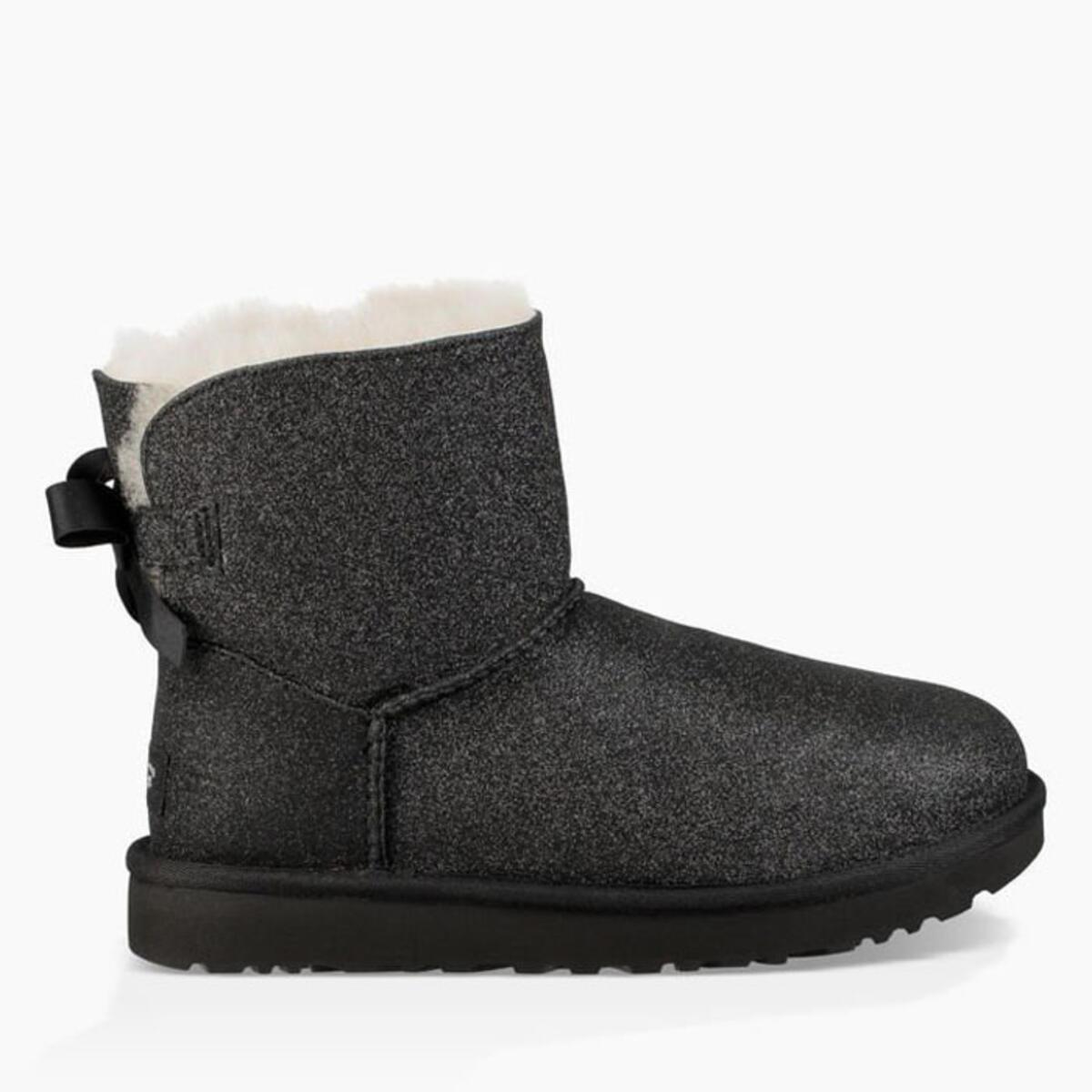 e3092a318c9 Ugg Women's Mini Bailey Bow Sparkle Winter Boots