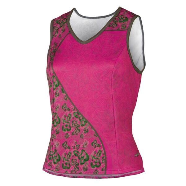 Shebeest Women's Easy V Spring Mix Cycling Tank Top