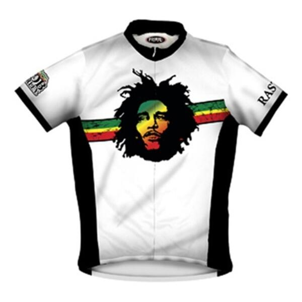 Primal Wear Men's Bob Marley Rasta Cycling Jersey