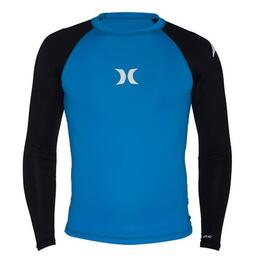 Hurley Boy's One And Only Long Sleeve Rashguard