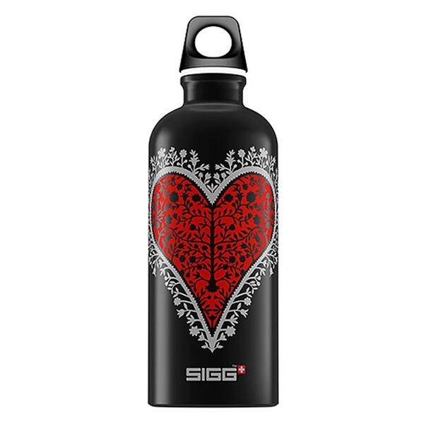 Sigg Wild At Heart Mood 0.6l Aluminum Water Bottle