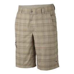 "Columbia Sportswear Men's Cool Creek Stretch Plaid 12"" Shorts"