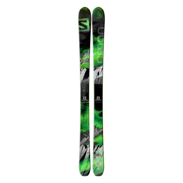 Salomon Men's Q-90 All Mountain Backside Skis '15 - Flat