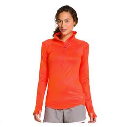 Under Armour Women's W Printed Qual 1/2 Zip