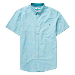 Billabong Men's All Day Chambray Short Slee