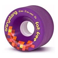 Orangatang Fat Free Longboard Wheels