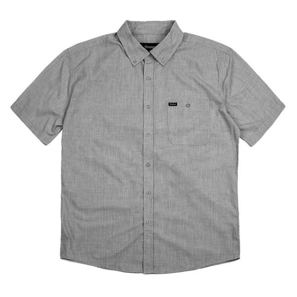 Brixton Men's Central Short Sleeve Woven Sh