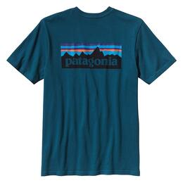 Patagonia Men's P6 Logo Cotton T-Shirt