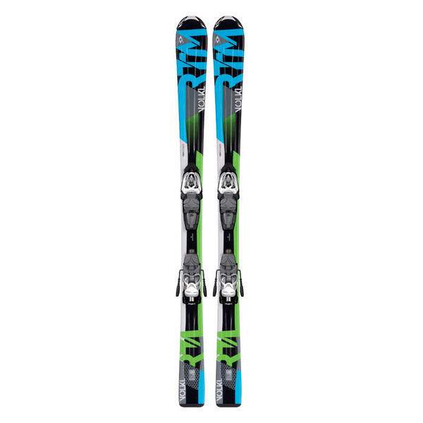Volkl Boy's RTM Jr All Mountain Skis with 3