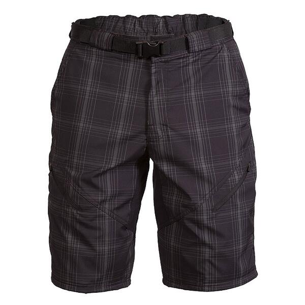 Zoic Men's Black Market Plaid Cycling Shorts