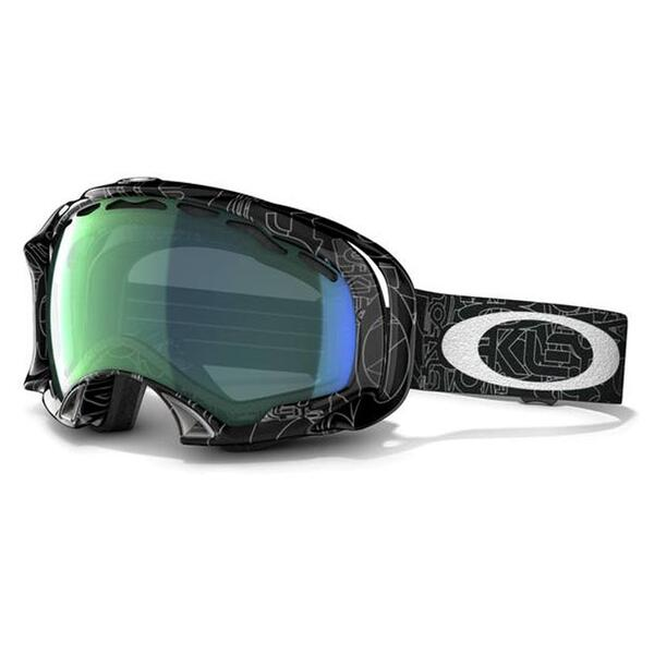 Oakley Splice Snow Goggles with Emerald Iridium Lens