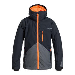 Quiksilver Boy's Mission Color Block Jacket