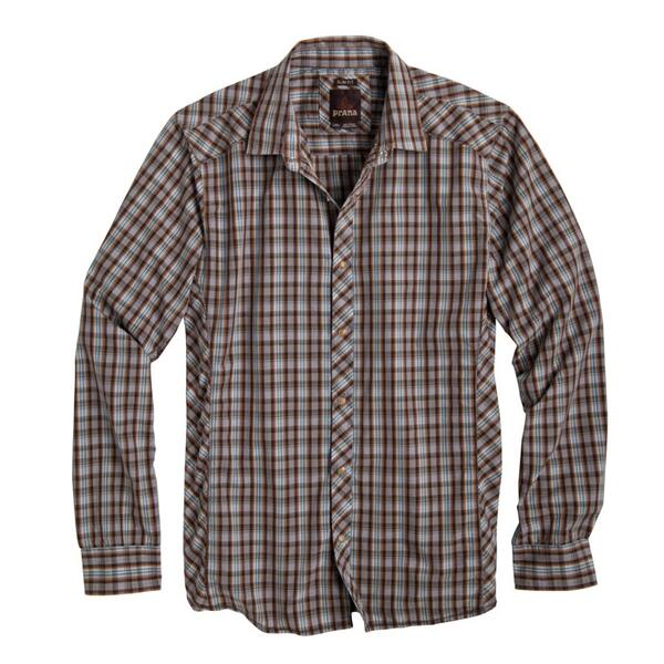 Prana Men's Bryant Long Sleeve Flannel Shirt