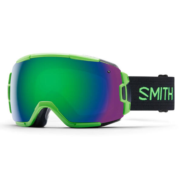Smith Vice Snow Goggles With Green Sol-X Mi