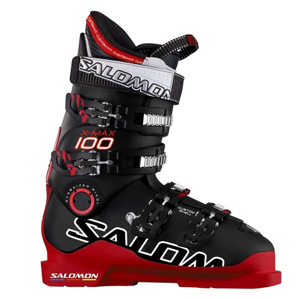 Salomon Men's X Max 100 On Piste Performance Ski Boots '13