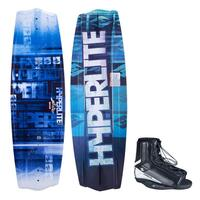 Hyperlite Men's State 2.0 Wakeboard W/ Remix Bindings '14