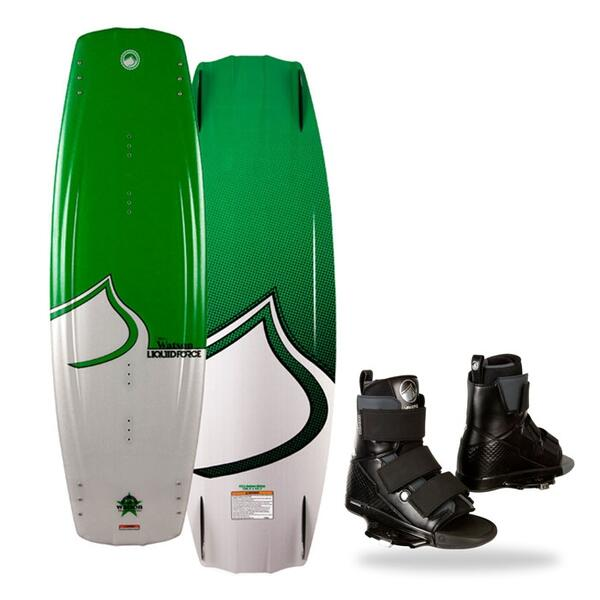 Liquid Force Men's Watson Wakeboard w/ Vantage OT Bindings '14