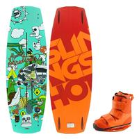 Slingshot Men's Shredtown Wakeboard W/shredtown Bindings '14