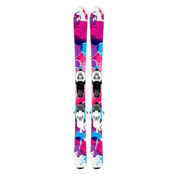 K2 Luv Bug Girls Skis w/ Fastrack2 4.5 Bindings