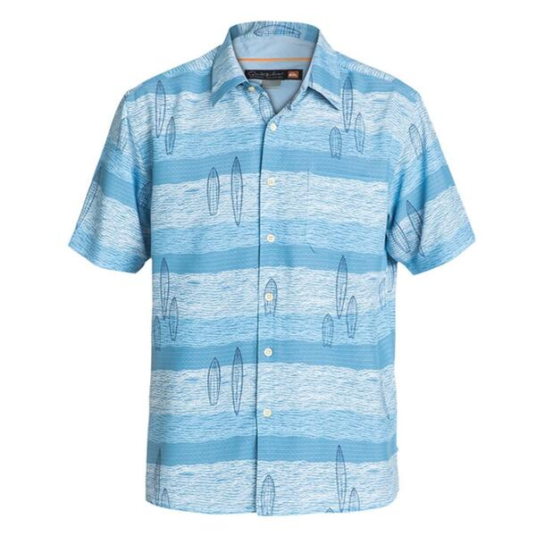 Quiksilver Men's Snapper Rocks Short Sleeve Shirt