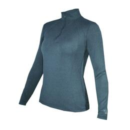 Hot Chillys Women's Geo-Pro Midweight Zip T-Neck