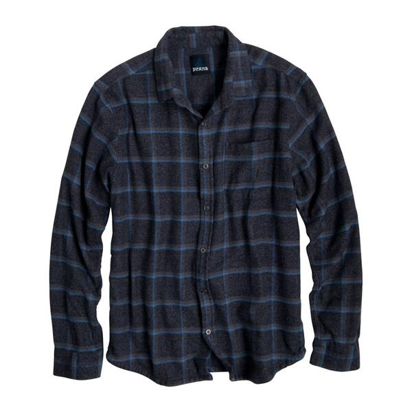Prana Men's Dutchman Flannel Long Sleeve Shirt