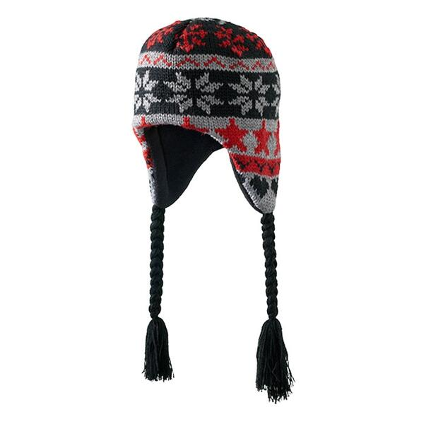 Screamer Youth Let It Snow Earflap Beanie