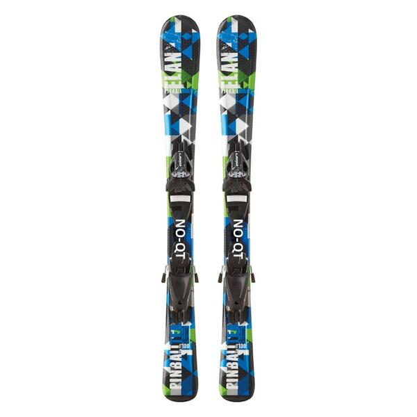 Elan Boy's Pinball Team Junior Skis with EL7.5 (Non-QT) Bindings '14