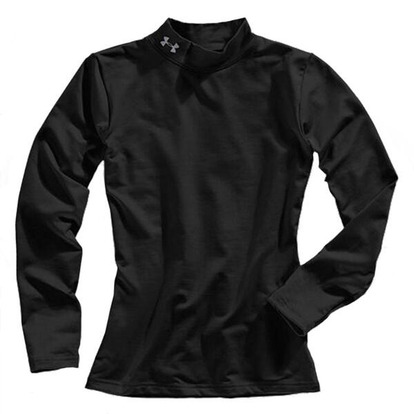 Under Armour Boy's Coldgear Evo Fitted Baselayer Mock