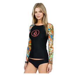 Volcom Women's Faded Flowers Rashguard