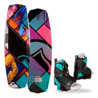 Liquid Force Women's Jett Grind Wakeboard w/ Transit Bindings '14