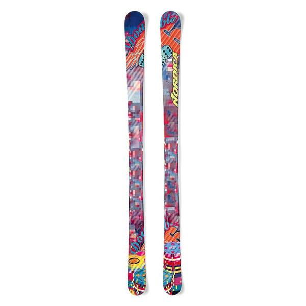Nordica Men's Double Six Park And Pipe Skis '13 - Flat