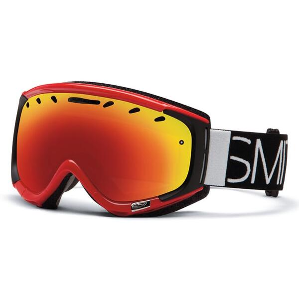 Smith Phenom Snow Goggles with Red Sol X Lens
