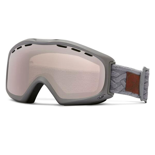 Giro Women's Siren Goggles with Rose Silver Lens