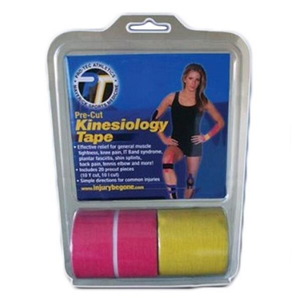 Pro-tec Athletics Precut Kinesiology Tape