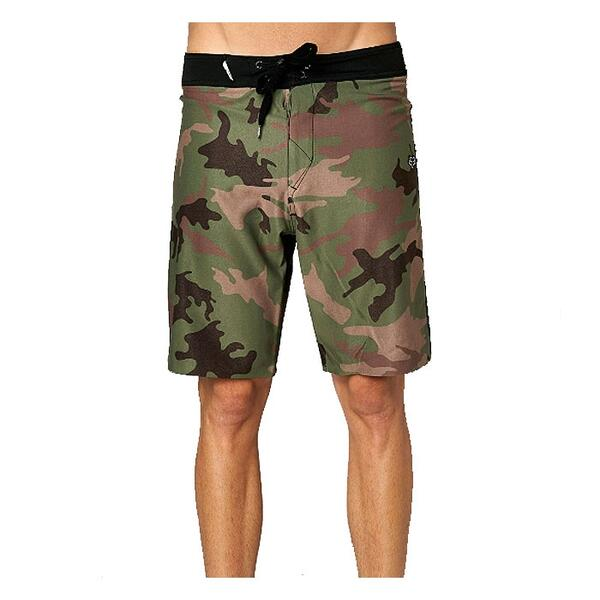 Fox Men's Camino Boardshorts (Green-Camo)