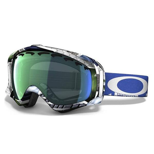 Oakley Crowbar JP Auclair Goggles with Emerald Iridium Lens