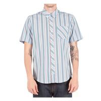 Volcom Men's Weirdoh Stripes Shortsleeve Woven Shirt