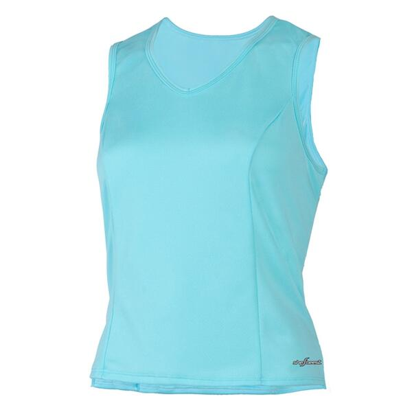 Shebeest Women's Easy V Solid Cycling Tank Top