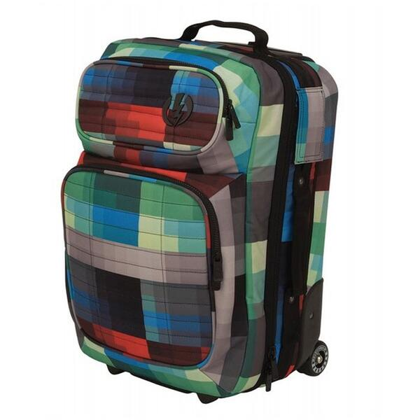 Electric Small Block Roller Wheeled Carry-on