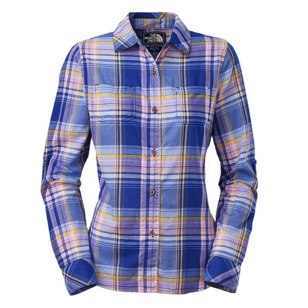 The North Face Alemany Long Sleeve Plaid Shirt
