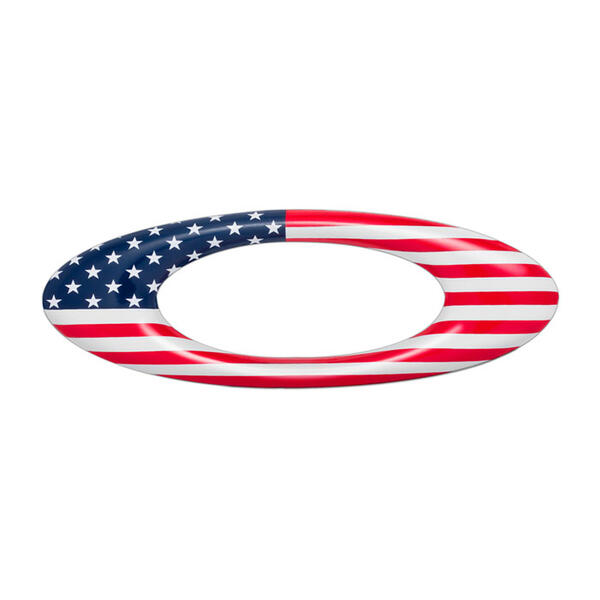 Oakley USA Flag Metal Icon Sticker