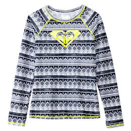 Roxy Girl's Gypsy Geo Long Sleeve Rashguard