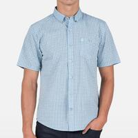 Volcom Men's Everett Mini Check Shirt