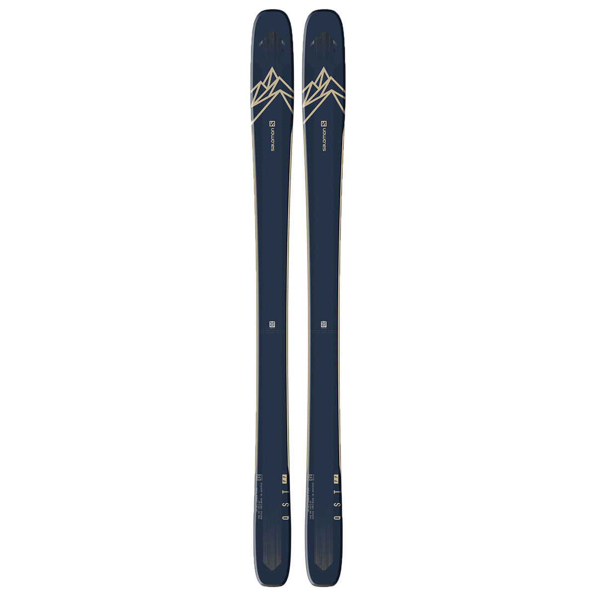 Salomon Men's QST 99 Skis '20